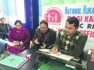 MLA Ramnagar chairs RKS Meetings at Ramnagar, Majalta  (2)