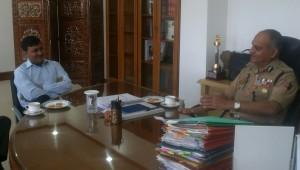 MLC Vibodh During a Meeting with DGP