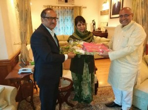BJP extends thanks CM Mehbooba