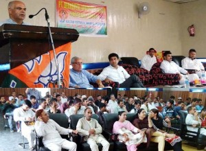 BJP holds workshop of Alp Vistaraks