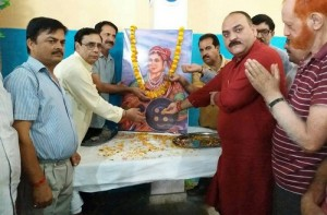 BJP remembers Rani Jhansi