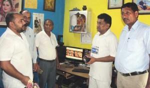 Balbir visits Corp.-i