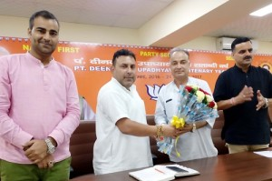 BJYM holds meeting in context of upcoming programmes