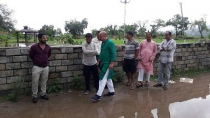Yudhvir Sethi visits flood affected Peerkho, extends help to affected
