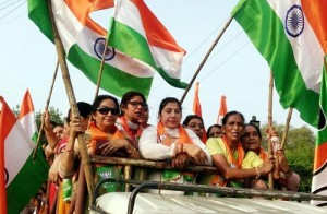 BJP Mahila Morcha takes out scooty rally