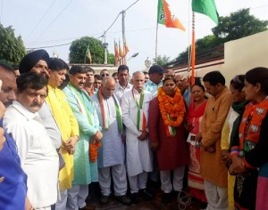 BJP celebrates Independence Day with fervour (1)