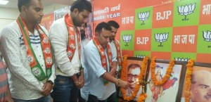 BJYM Jammu organizes District