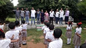 BJYM organised Swaach Bharat Programmes