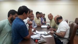 Bali Bhagat conducts Public, Karyakarta Darbar (2)