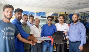 Corporation loans 3 vehicles to STs of Rajouri