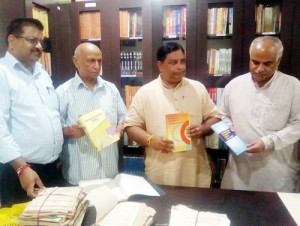 Renowned authors donate books to Nanaji Deshmukh Library-I