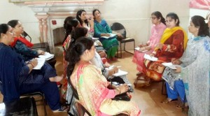 BJP Mahila Morcha holds review meeting