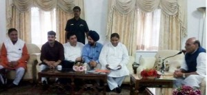 BJP delegation submits memorandum to Union Home Minister at Srinagar-i