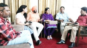 Overseas Education Loan aspirants meet Balbir