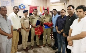 BJP West Team Accord Farewell To SSP Jammu