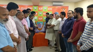 BJP pays floral tribute to Goa freedom -i