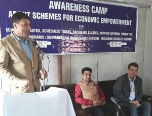 First ever Awareness Camp by SC,ST, BC Dev Corp in Gurez (1)