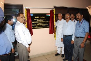 Inauguration of Solar Power Plant at NHPC Regional Office, Jammu by Sh.Shamsher Singh Manhas, Hon,ble MP(RS) on 09.10.2017 (14)