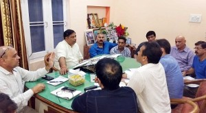 Sat Sharma conducts review meeting with public (2)