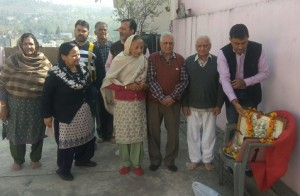 MLC Vibodh Gupta Paying Tributes to 1947 Martyrs of Rajouri