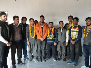 MORE YOUTH JOINS BJYM IN JAMMU