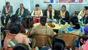 BJP Mahila Morcha holds Mandal Working Committee Meeting