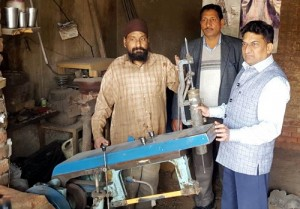 Balbir continues inspection of loaned units