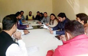 Dr. Magotra chaired BJYM Monthly-i