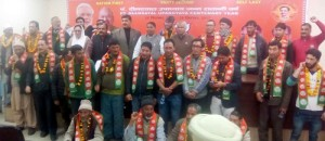 Prominent persons from Zanskar join BJP