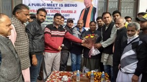 Sat Sharma holds open Public Darbar
