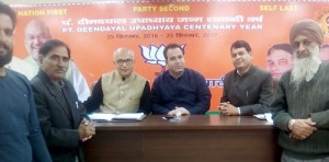 Sunil Sharma conducts open Public, Karyakarta Darbar